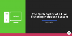 Live Ticketing Helpdesk Infograhic