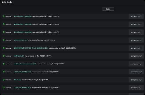 Logging Record of All Scripts Run Remotely