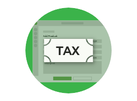 Marking Products and Services as Taxable or Non-taxable